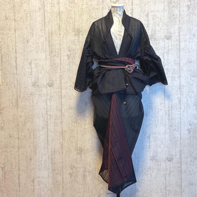 """紗の""""Kimono"""" dress"""
