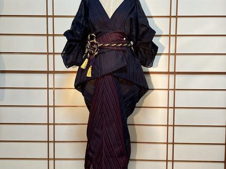 新作 Kimono Dress