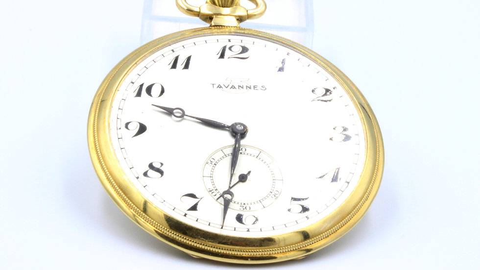 14ct Tavannes Pocket Watch c1930s