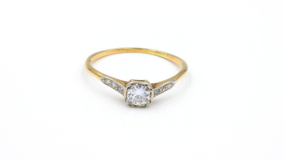 18ct Platinum Diamond Engagement Ring