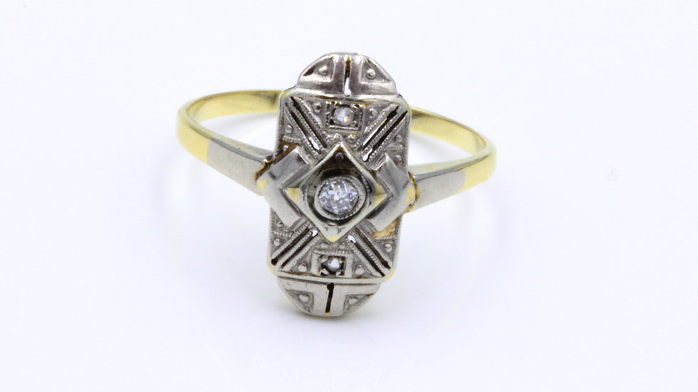 American Art Deco Diamond Ring