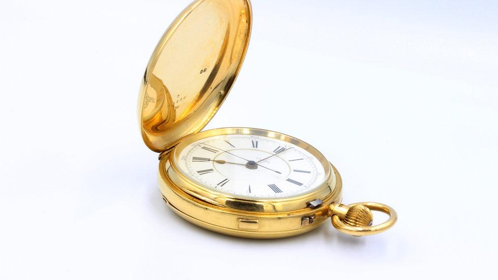 18ct Full Hunter Doctor's Pocket Watch