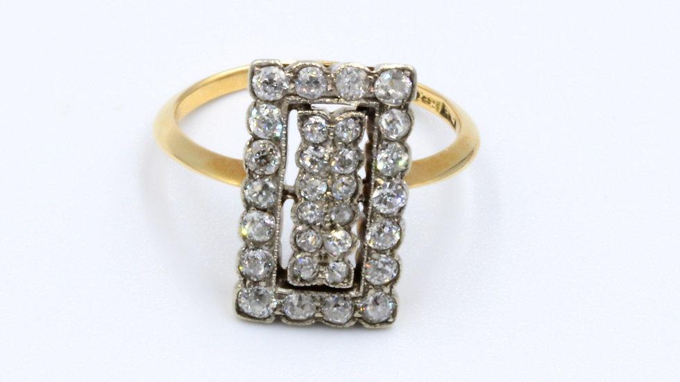 18ct Edwardian Diamond Ring