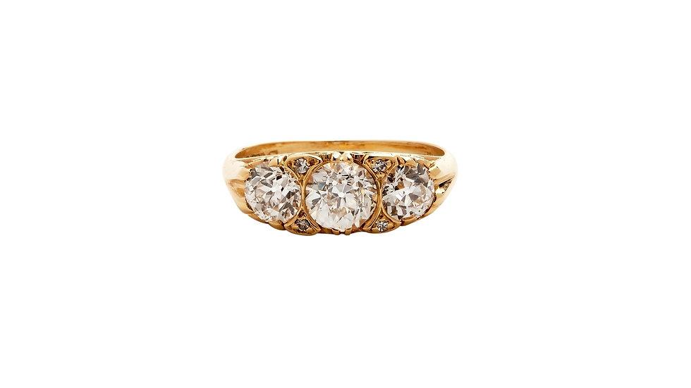 18ct Diamond Trilogy Ring