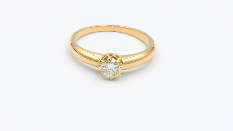 18ct Gold Diamond Solitaire (Aus)
