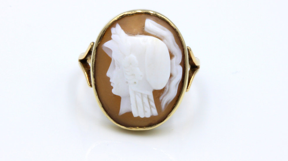 9ct Victorian Cameo Ring