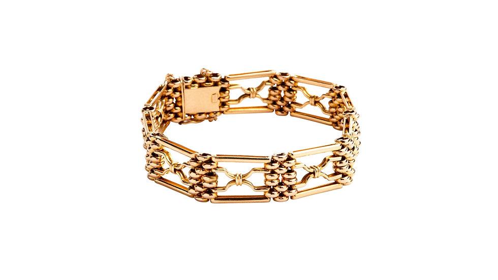 Solid 15ct Gatelink Bracelet