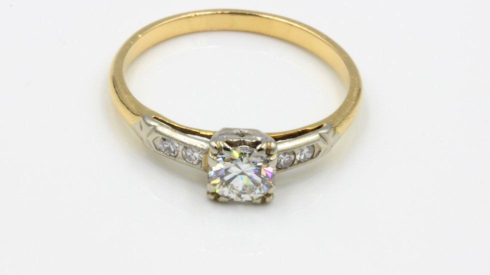 14ct Diamond Solitaire