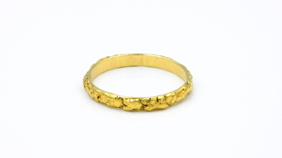 18ct Yellow Gold Fancy  Band