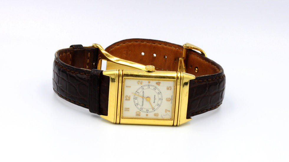 18ct Jaeger Le Coultre Reverso Watch