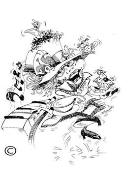 caricature Madhatter