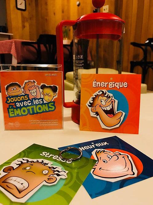 Cartons Jouons avec les Émotions - Éditions Midi-Trente