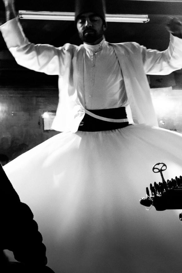 Whirling Dervish dancer, Istanbul