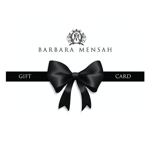 Barbara Mensah Gift Card