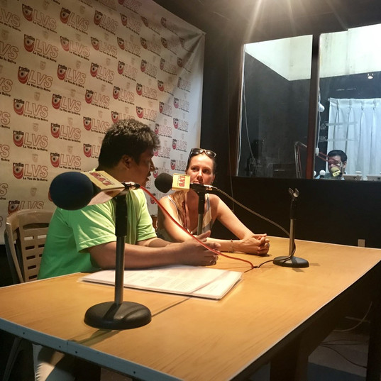 INTERVIEW IN RADIO DE LA SELVA (