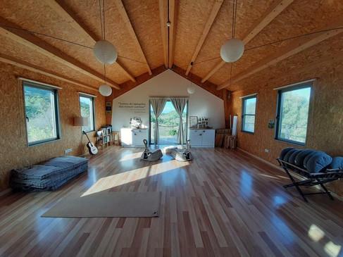 Sala interior de práctica