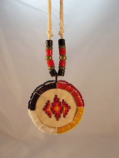 Quilled and Beaded Necklace