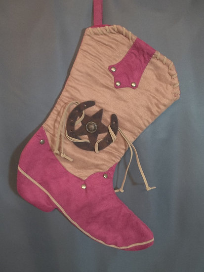 Boot Stocking-Red