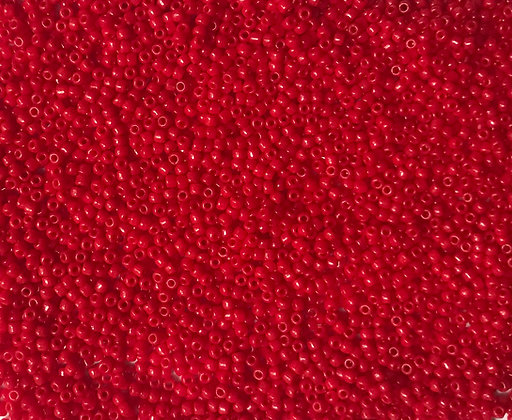 11/0 LSTR Red Seed Bead