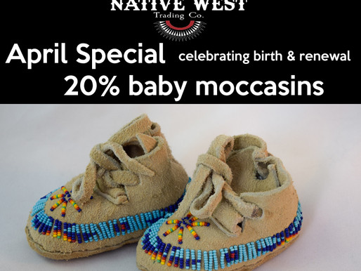 Baby Moccasins at Native West Trading Company