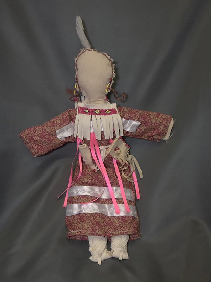 Doll with Floral Dress