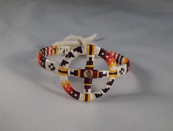 Quilled Wheel Bracelet