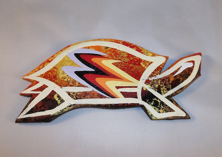 Turtle Magnet-Orange
