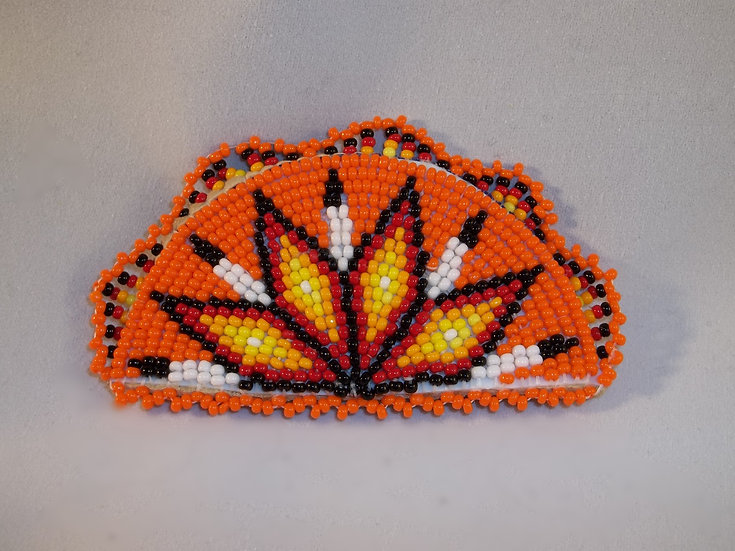 Orange Barrette