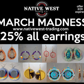 March Madness Earring Extravaganza