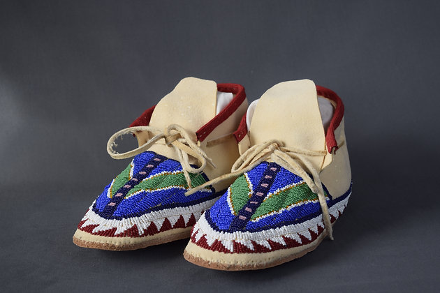 Beaded Woman's Moccasins