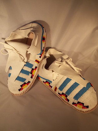 Beaded Moccasins-Mens