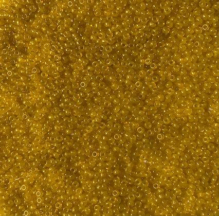 11/0 Greasy Yellow Seed Bead