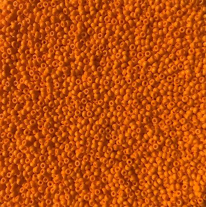11/0 OP Dark Orange Seed Bead