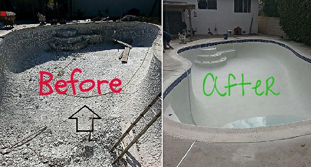 Plaster Repair and New Pool Plaster