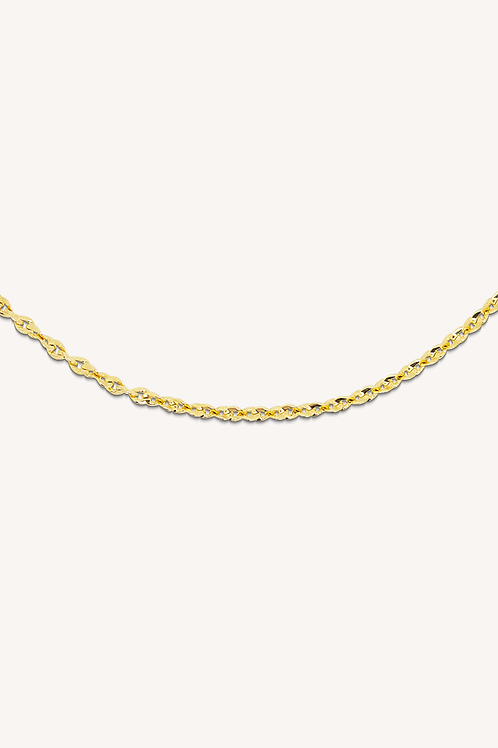 Rosalia Necklace Gold
