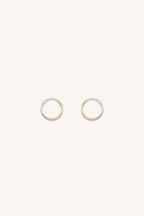 Plain Hoop Gold (M)