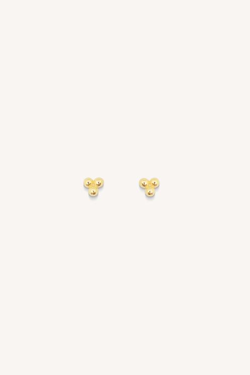 Dot Studs Gold