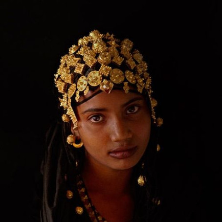 Tuareg Women And Their Jewelry