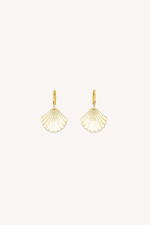 Shell Hoops Gold