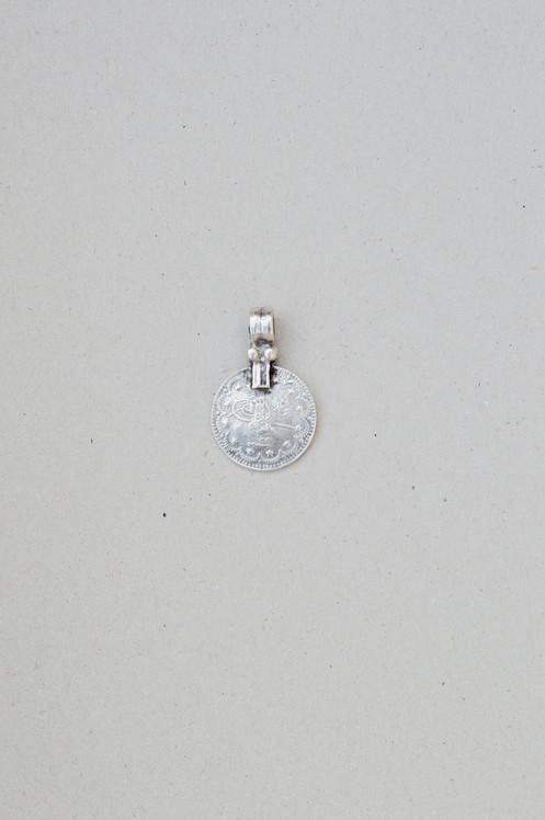 Byzantine Coin Pendant Silver
