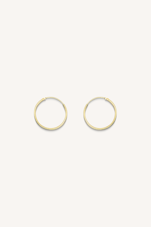 Plain Hoop Gold (L)