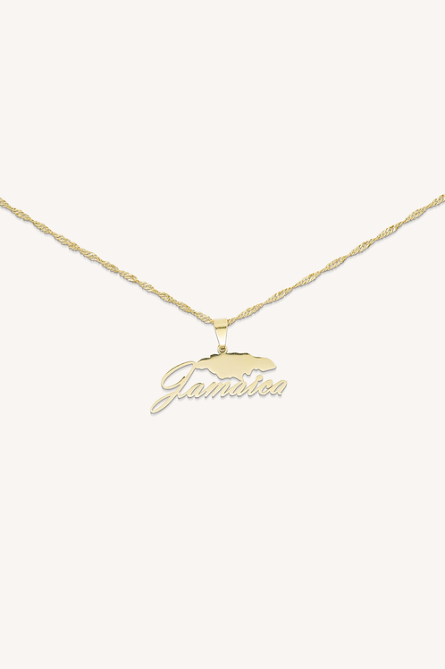 Jamaica Necklace Gold