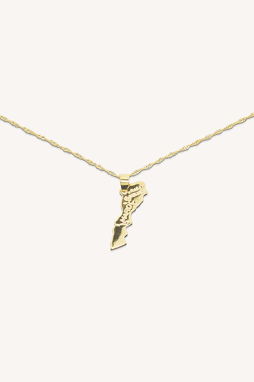 Morocco Necklace Gold