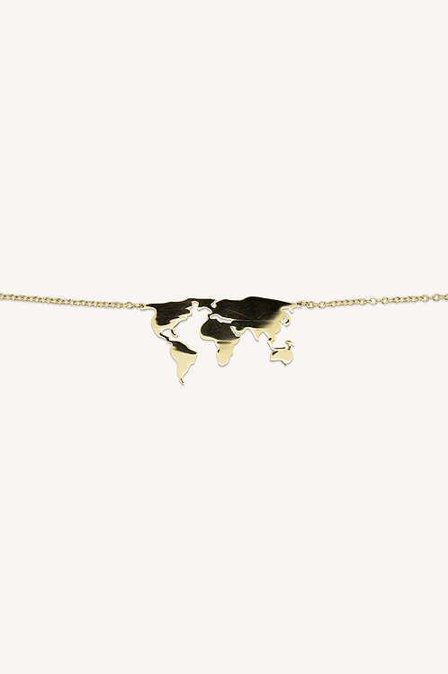World Wide Necklace Gold