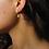Thumbnail: Star Cubic Zirconia Hoops Gold