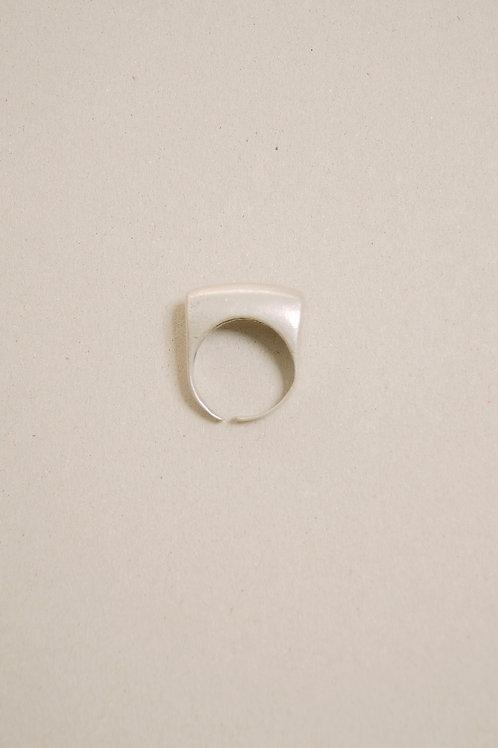 Bar Ring Silver