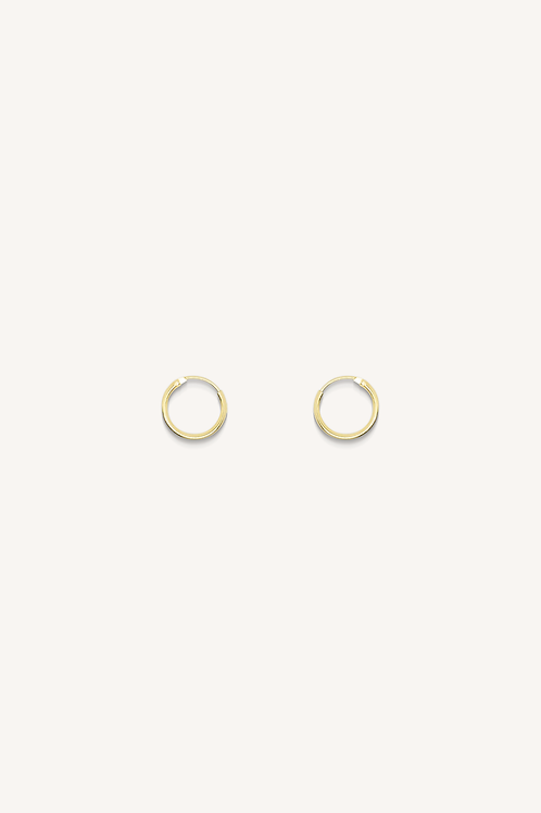 Plain Hoop Gold (S)
