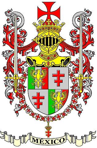 Escudo Gran Priorato de Mexico OSMTH (Porto)