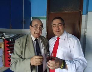 Brindando con  el hermano Maestre SAE Fr.+++ Don Fernando