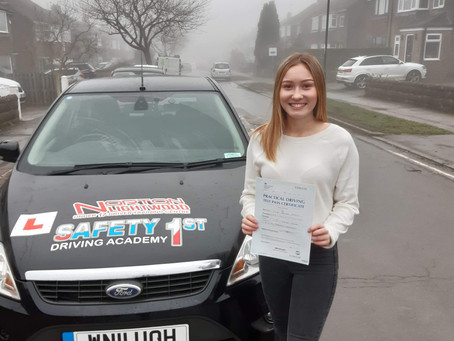 Pass 1st time #drivinglessons #rotherhamiswonderful